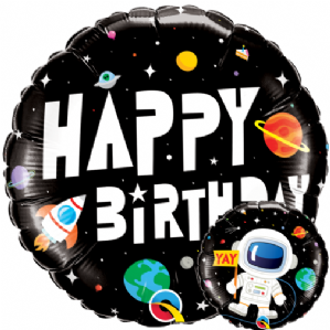 Birthday Astronaut Foil Balloon | Free Delivery available